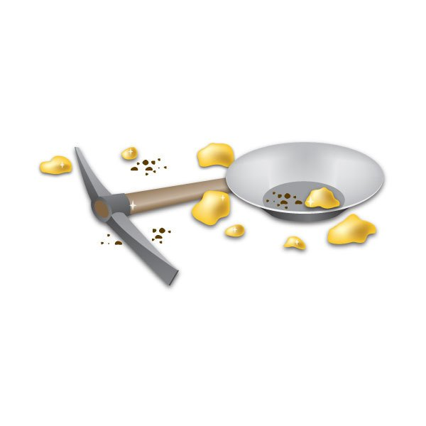 Panning for gold clipart 7 » Clipart Portal.