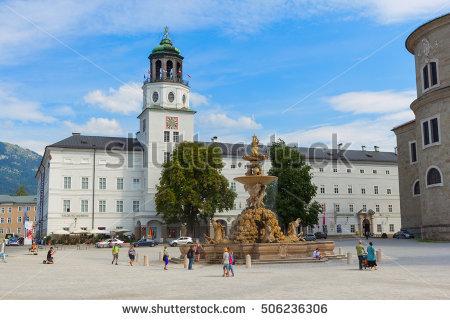 Salzburg People Stock Photos, Royalty.