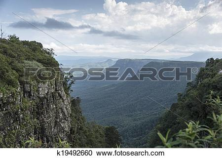 Stock Photography of gods window panorama route africa k19492660.