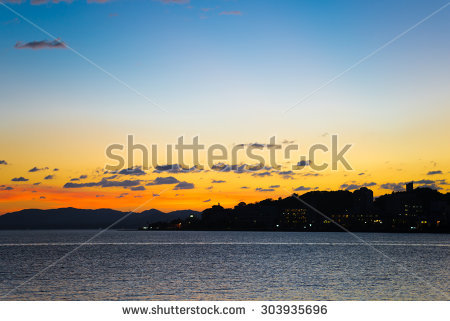 Evening Lake Mountains Waterfront Stock Photos, Royalty.