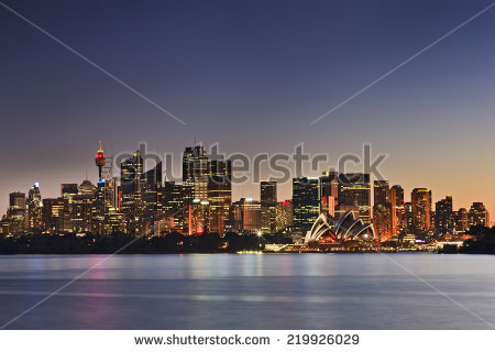 Sydney Panoramic Stock Photos, Royalty.