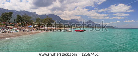 Antalya Panorama Stock Photos, Royalty.