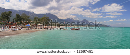 Antalya Panorama Stock Images, Royalty.