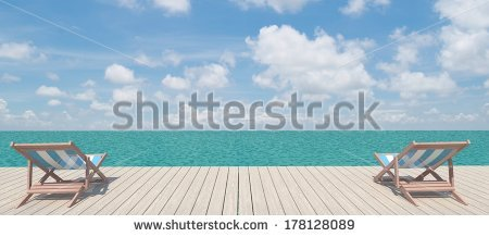 Panoramic Beach Stock Photos, Royalty.