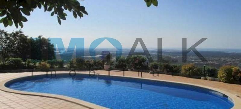 Fantastic Villa T6 with Panoramic view sea near Loulé and Faro.