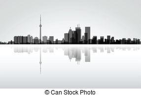 Toronto panorama Vector Clip Art EPS Images. 67 Toronto panorama.