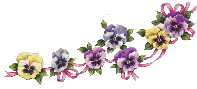 Pansies Clipart.