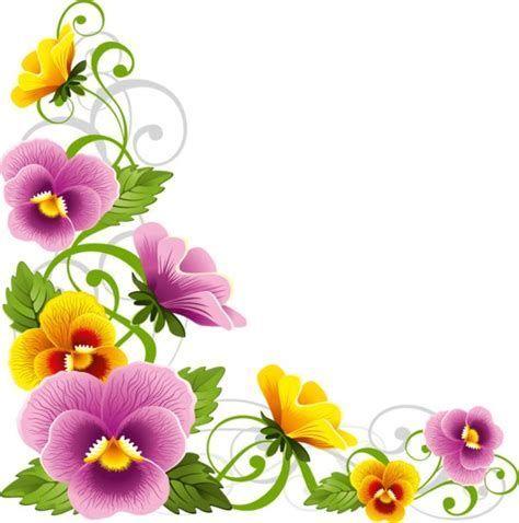 Image result for Pansy Flower Border.