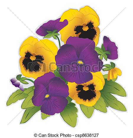 Pansies Illustrations and Clip Art. 1,239 Pansies royalty free.