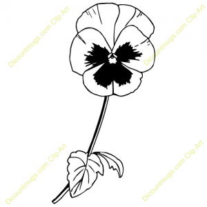 Pansy flower clipart » Clipart Station.