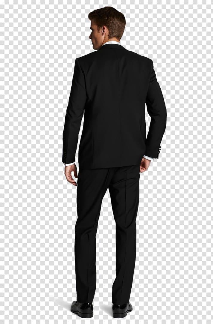 Suit Tuxedo Blazer Jacket Pants, suit transparent background.