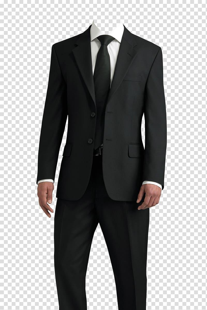 Men\'s black suit, Suit T.