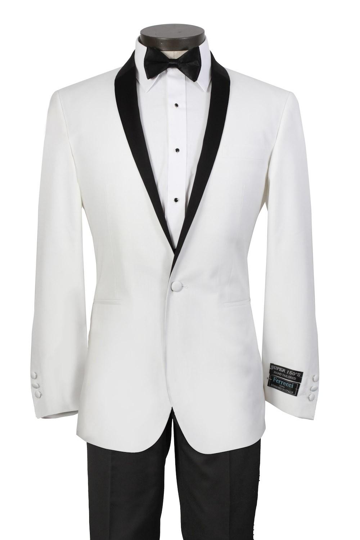 White Pants Suit Clipart.