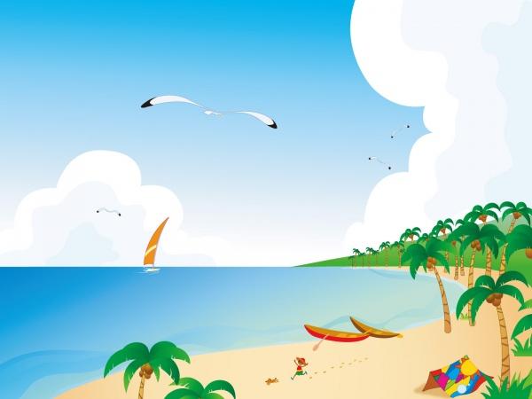 Tropical beach clip art free beach clipart beach ball free clip 2.