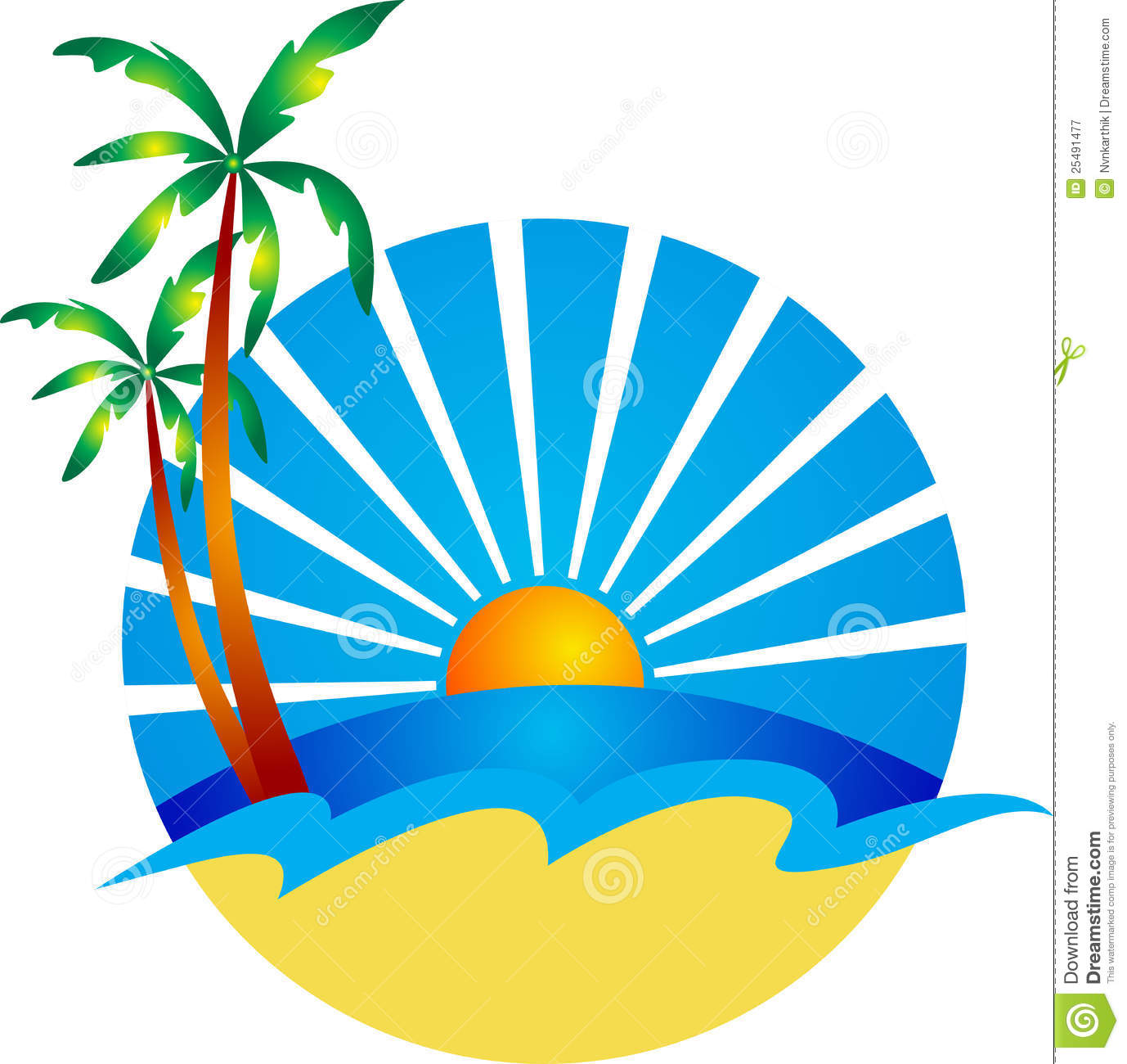Beach Logo Stock Photos, Images, & Pictures.