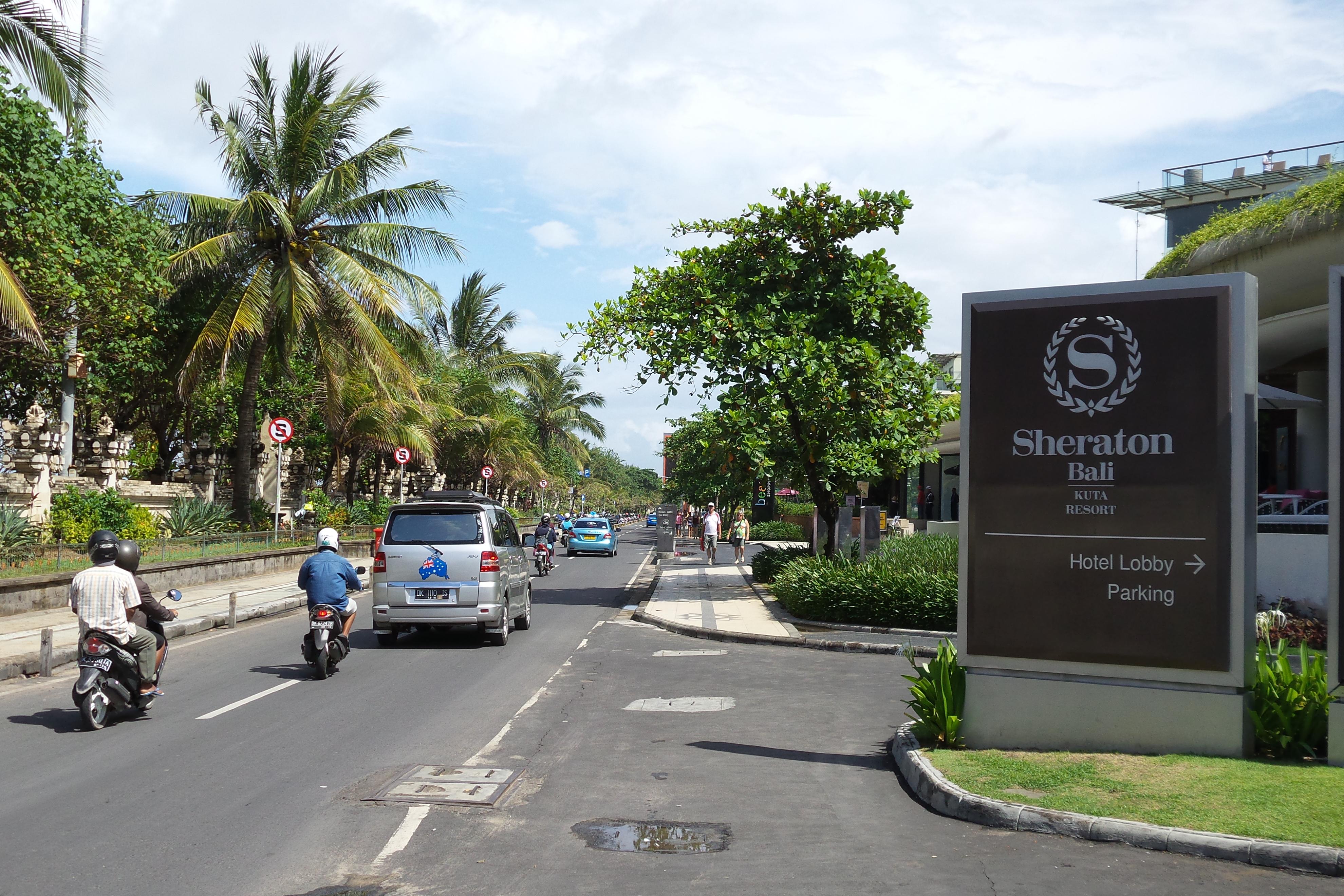 A Walk Down Pantai Kuta (Kuta Beach) Street.