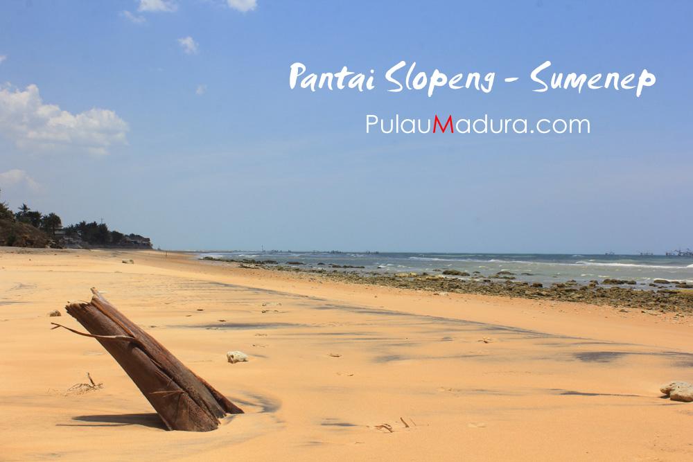 Indahnya Wisata Pantai Slopeng di Kabupaten Sumenep.