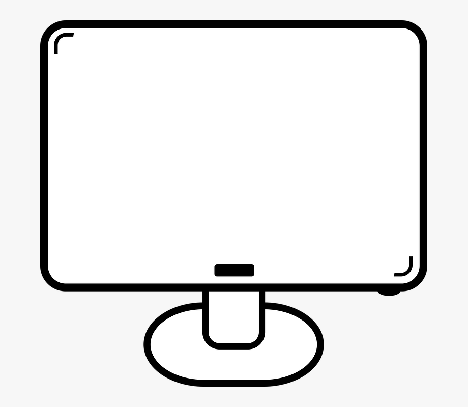 Pc Clipart Simple Computer.