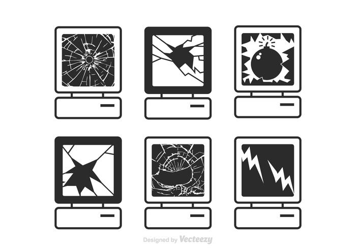Pantalla rota clipart clipart images gallery for free.