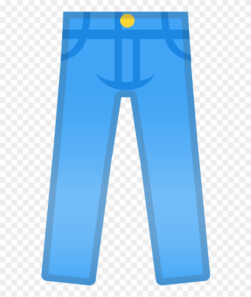 Jeans Clipart Blue Object.