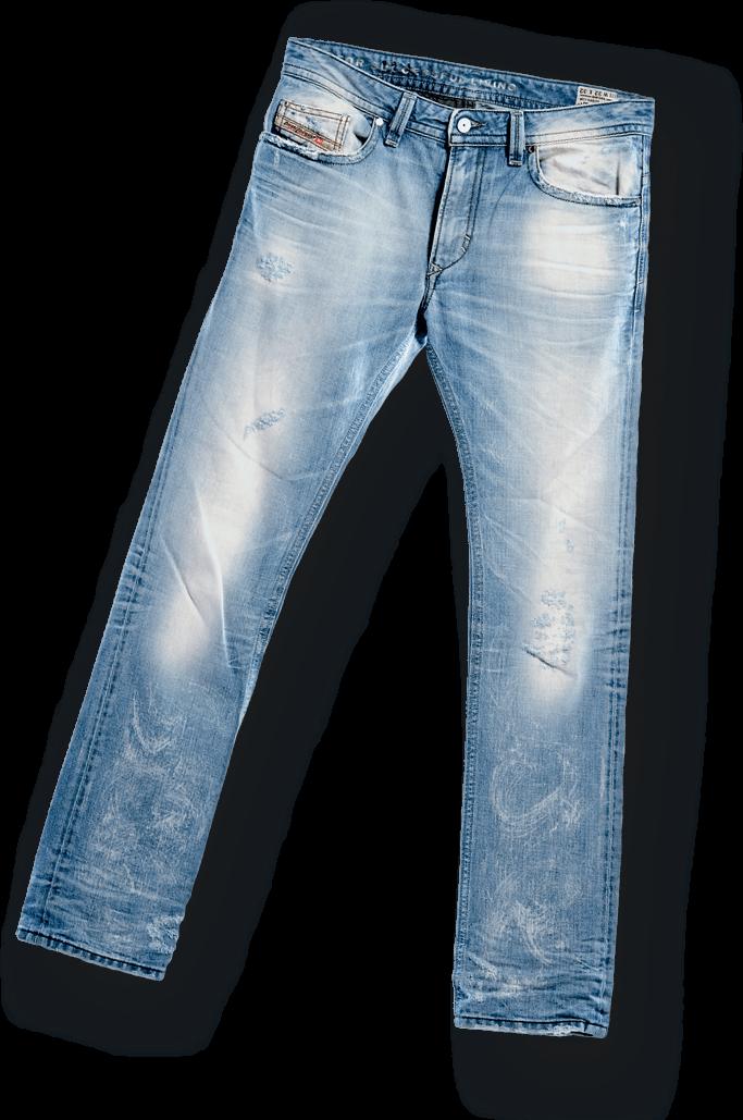 Pair Of Mens Jeans transparent PNG.