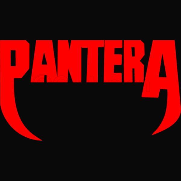 Pantera Band Logo Baby Bib.