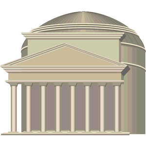 Pantheon Italy clipart, cliparts of Pantheon Italy free.