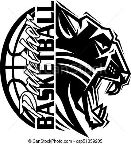 Panther basketball clipart 6 » Clipart Portal.