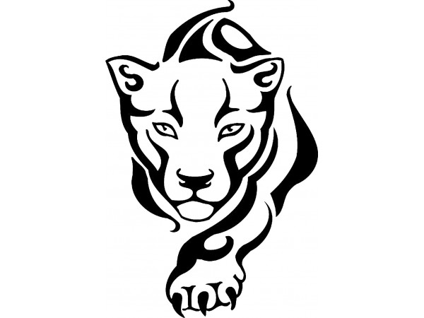 Free Panther Clipart Black And White, Download Free Clip Art.