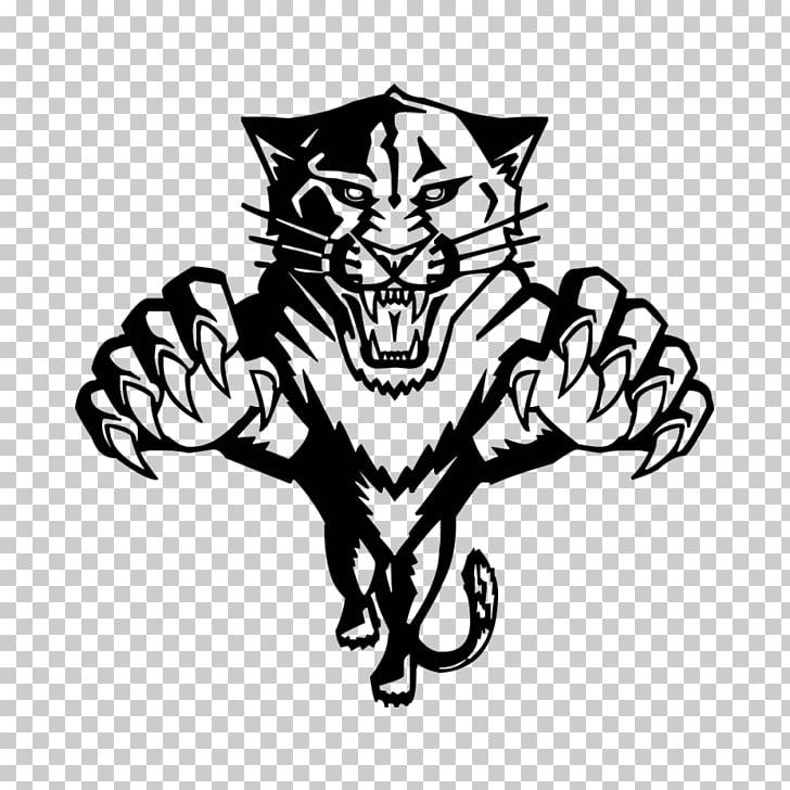 Black panther Florida Panthers , black panther PNG clipart.