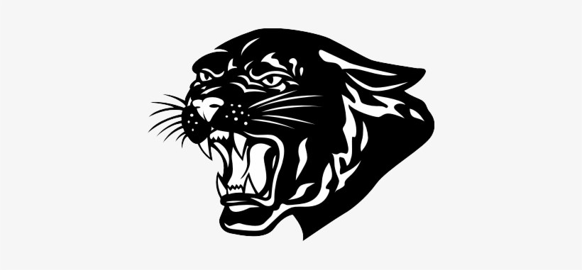 Panther Clipart Black And White.