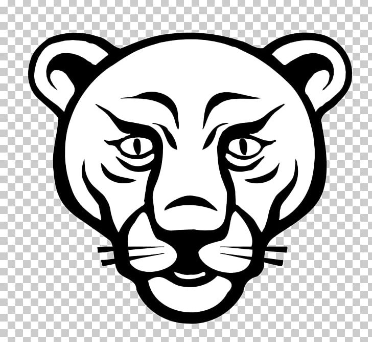 Lion Black Panther Tiger Cougar Coloring Book PNG, Clipart.