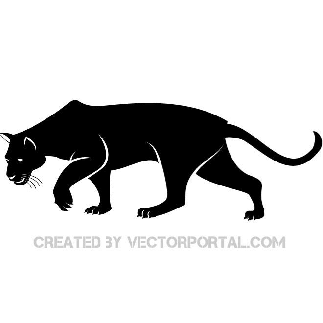 Free panther vectors.