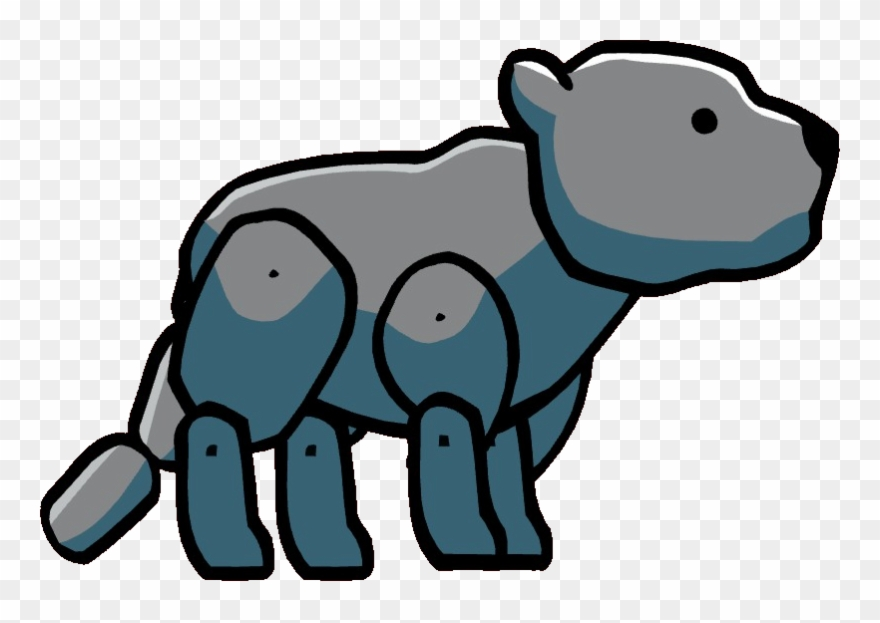 Panther Cub Clipart.