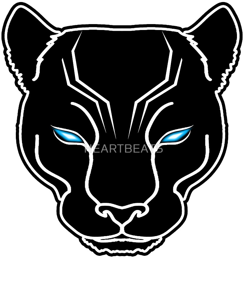 Panther Face Cliparts.
