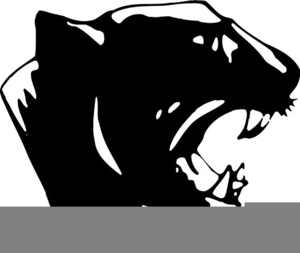 Clipart Of Panther Head.