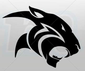 Amazon.com: Black Panther Head 5.5\
