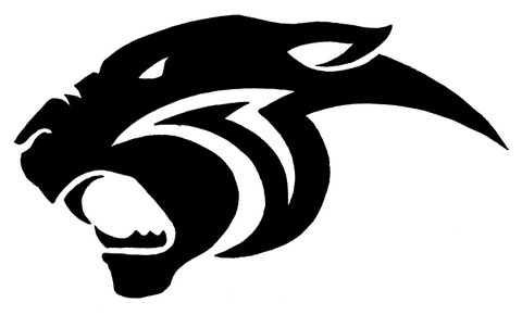 Free Panther Head Silhouette, Download Free Clip Art, Free.