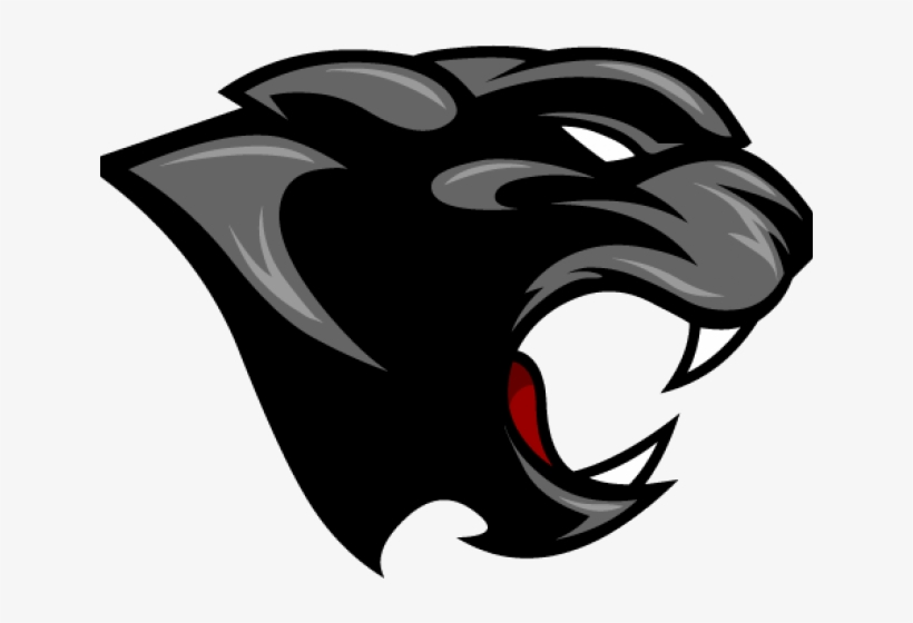 Panther Head Clip Art Transparent PNG.