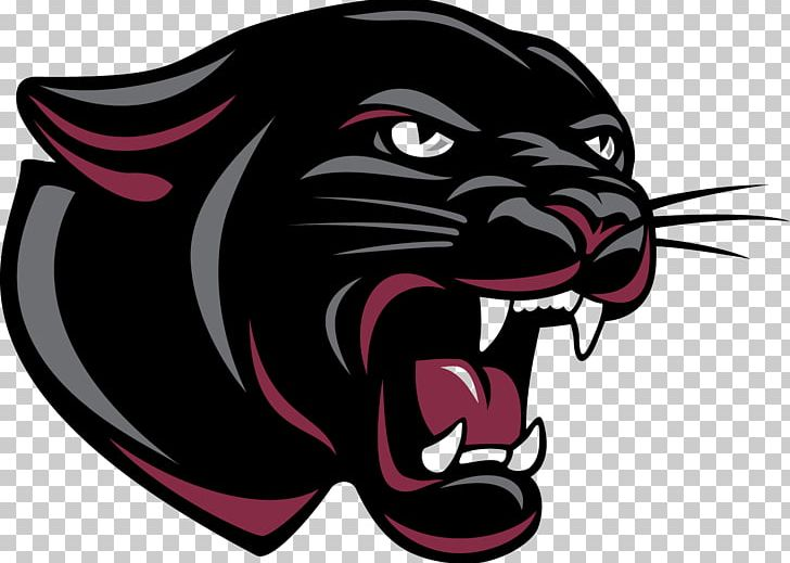 Permian High School Panther Logo Mascot PNG, Clipart.