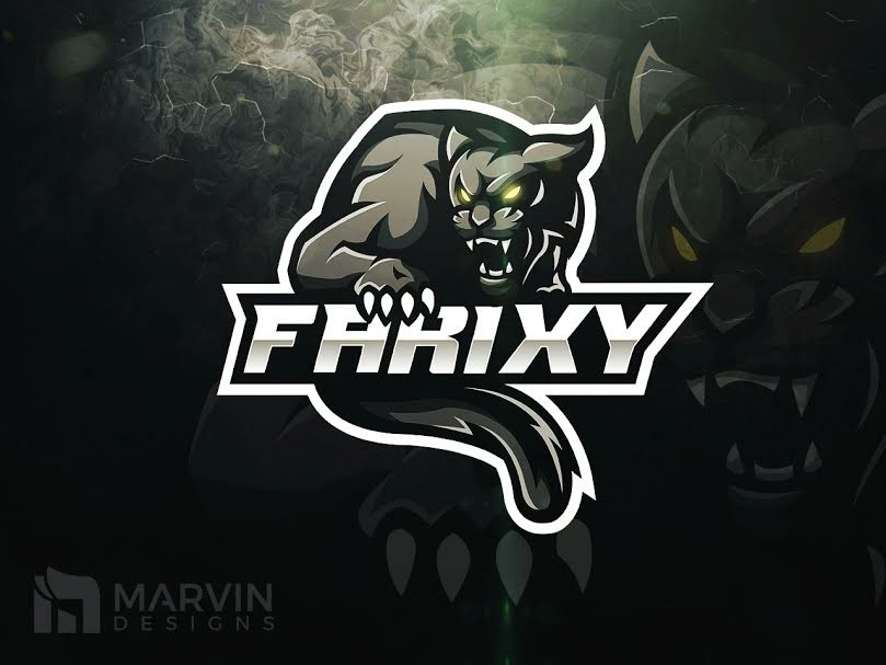 Panther Mascot Logo by Marvin Baldemor on Dribbble.