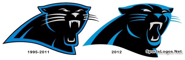 Carolina Panthers Unveil New Logo for 2012.