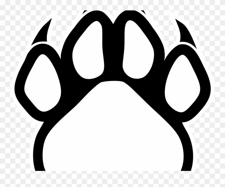 Dog Paw Print Outline X Carwad Net.