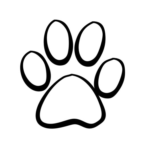 84+ Panther Paw Clipart.