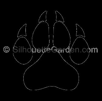 45+ Panther Paw Print Clip Art.