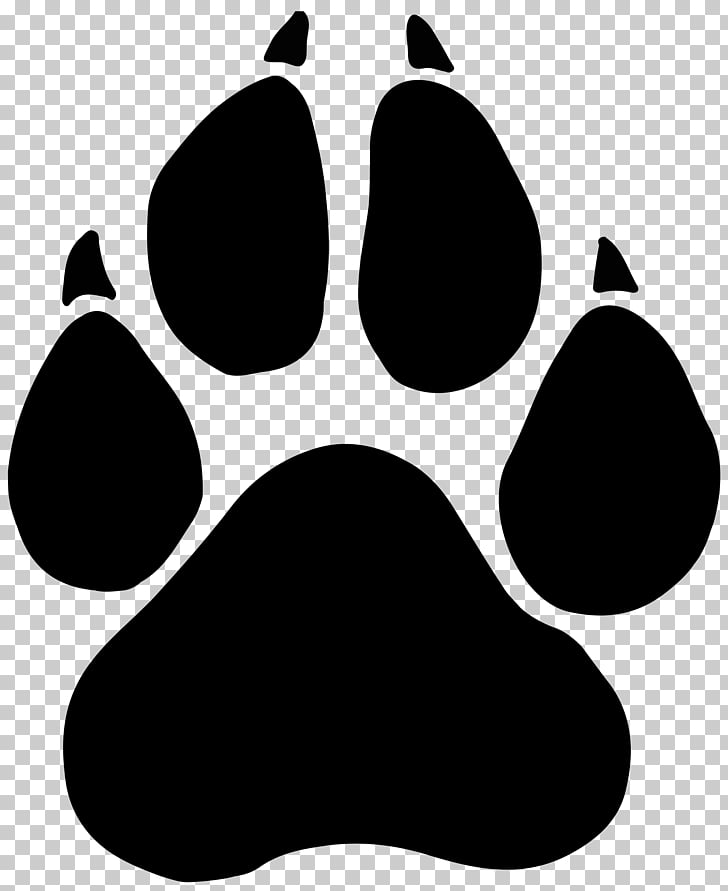 Black panther Paw Dog Bear , claw PNG clipart.