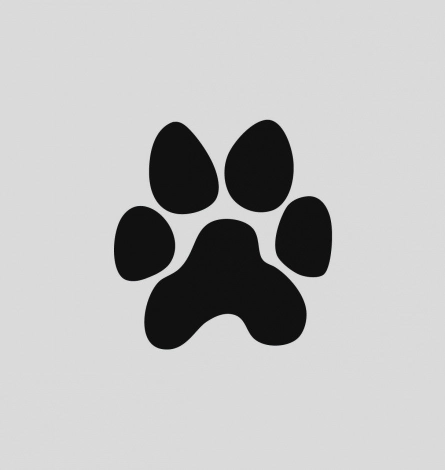 151 Panther Paw free clipart.