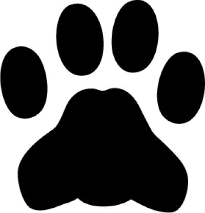 Black Panther Paw PNG.
