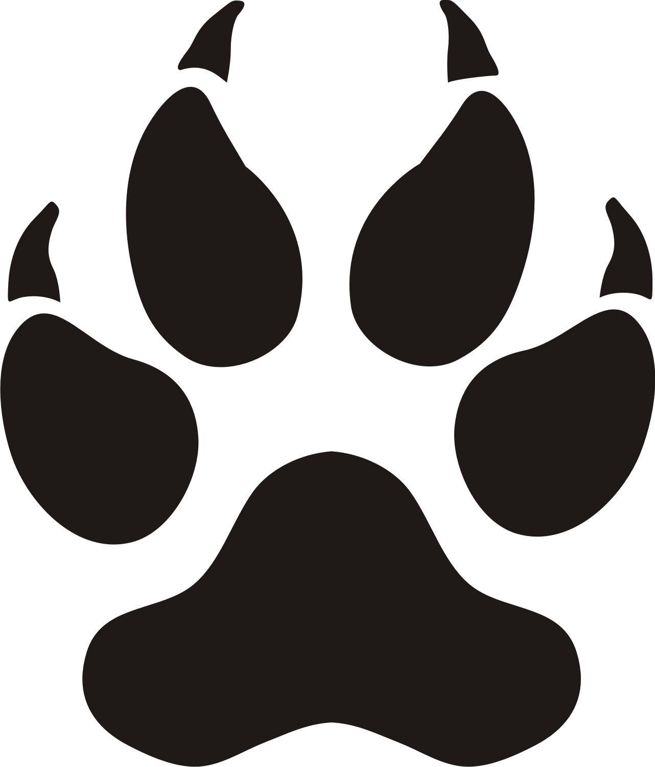 Free Panther Paw, Download Free Clip Art, Free Clip Art on.