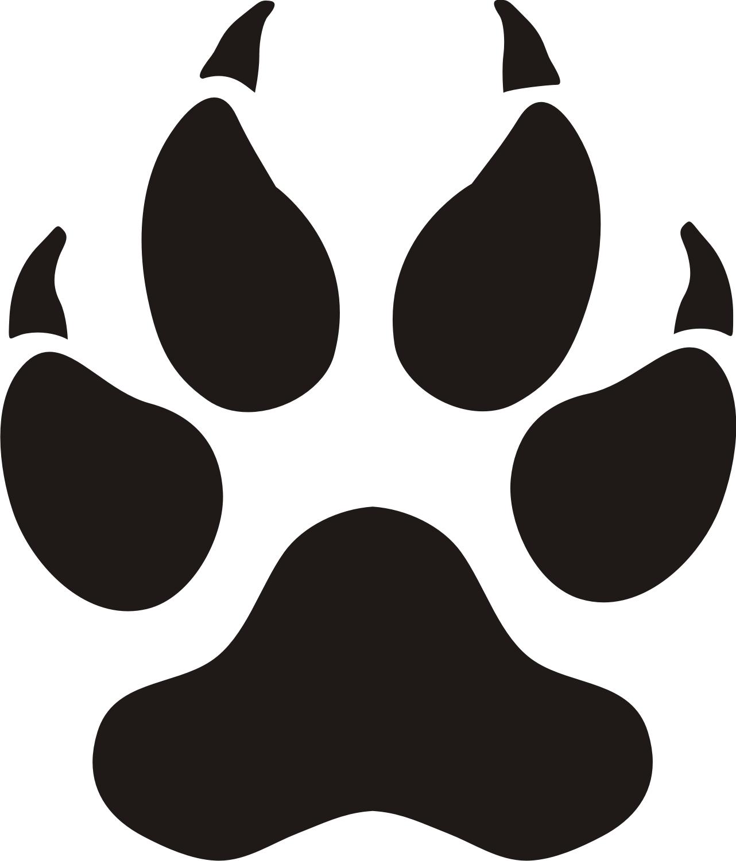 Dog paw print clip art free download free 3 image #19250.